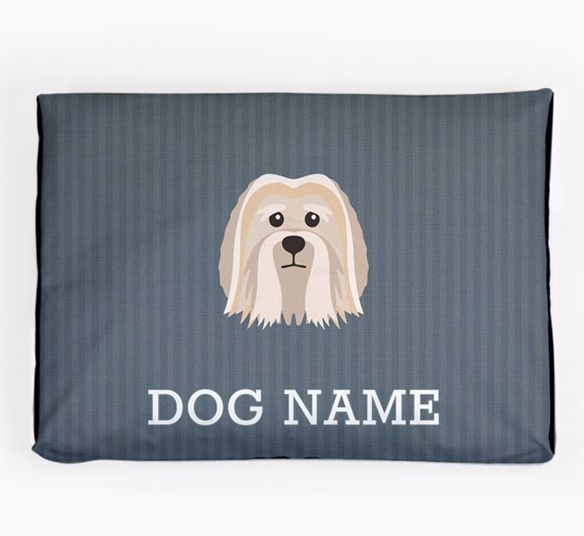 Personalised Dog Bed for your Löwchen