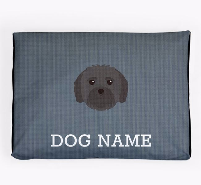 Personalised Dog Bed for your Mal-Shi