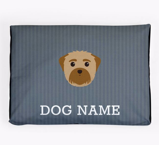 Personalised Dog Bed for your Maltese
