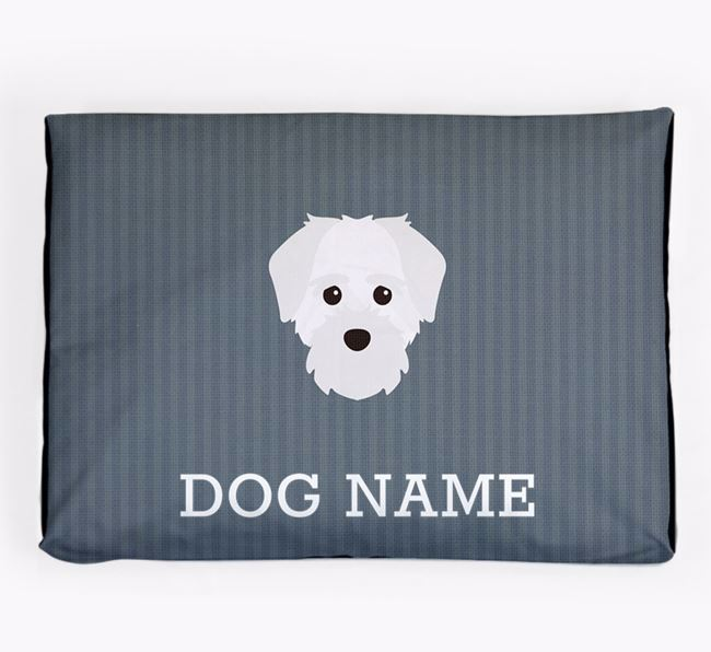 Personalised Dog Bed for your Maltichon