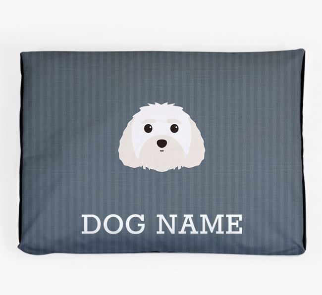 Personalised Dog Bed for your Malti-Poo