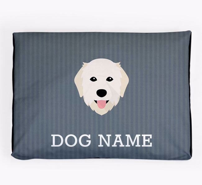 Personalised Dog Bed for your Maremma Sheepdog