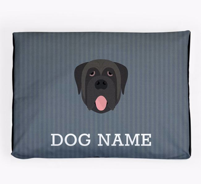 Personalised Dog Bed for your Mastiff