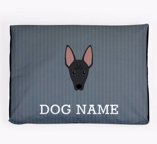 Personalised Dog Bed for your Mexican Hairless