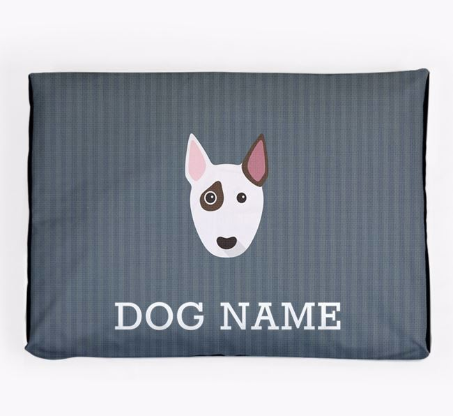 Personalised Dog Bed for your Miniature Bull Terrier