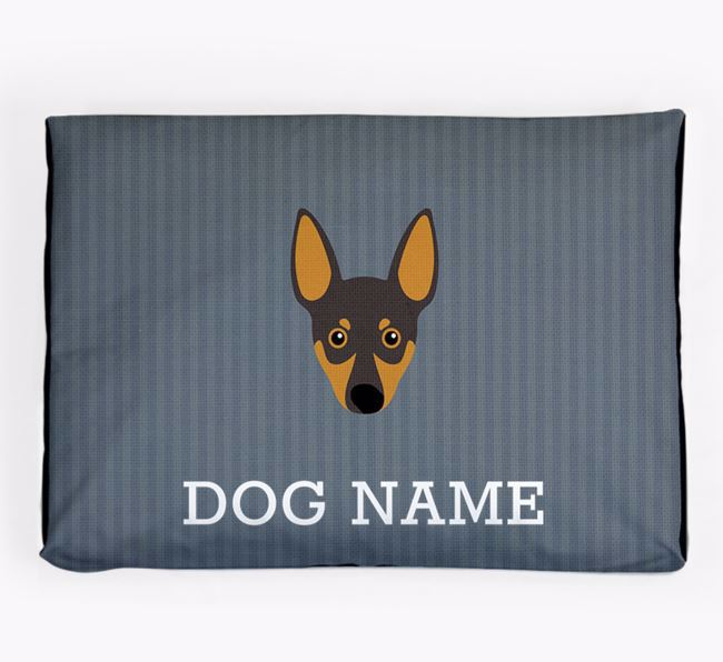 Personalised Dog Bed for your Miniature Pinscher