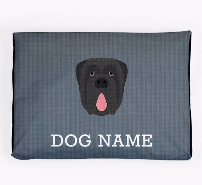 Personalised Dog Bed for your Neapolitan Mastiff