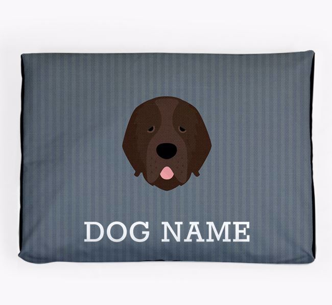 Personalised Dog Bed for your Newfoundland