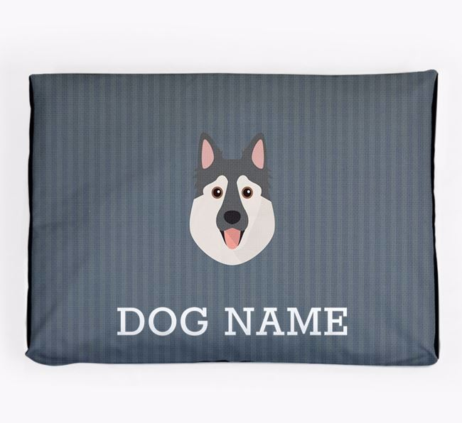 Personalised Dog Bed for your Northern Inuit