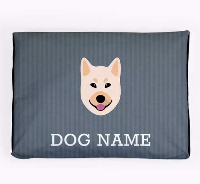 Personalised Dog Bed for your Norwegian Buhund