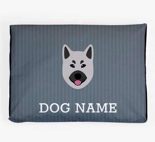 Personalised Dog Bed for your Norwegian Elkhound