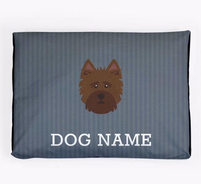 Personalised Dog Bed for your Norwich Terrier