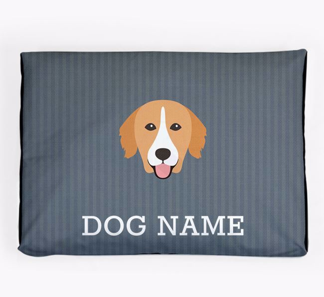 Personalised Dog Bed for your Nova Scotia Duck Tolling Retriever