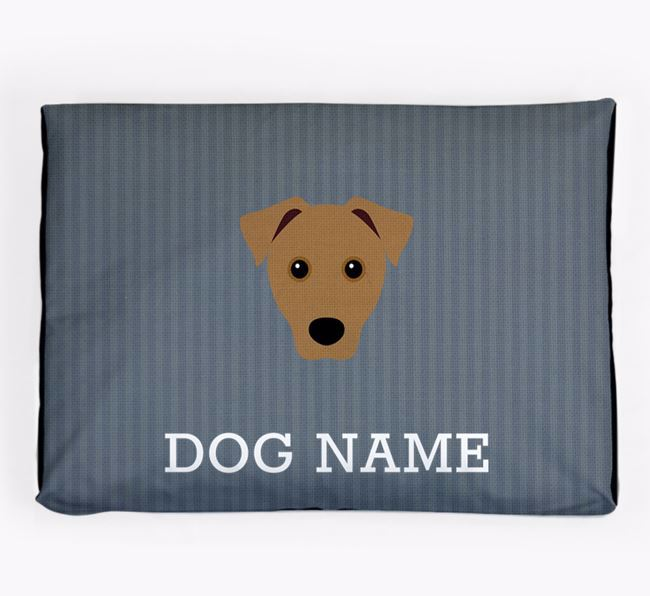 Personalised Dog Bed for your Patterdale Terrier