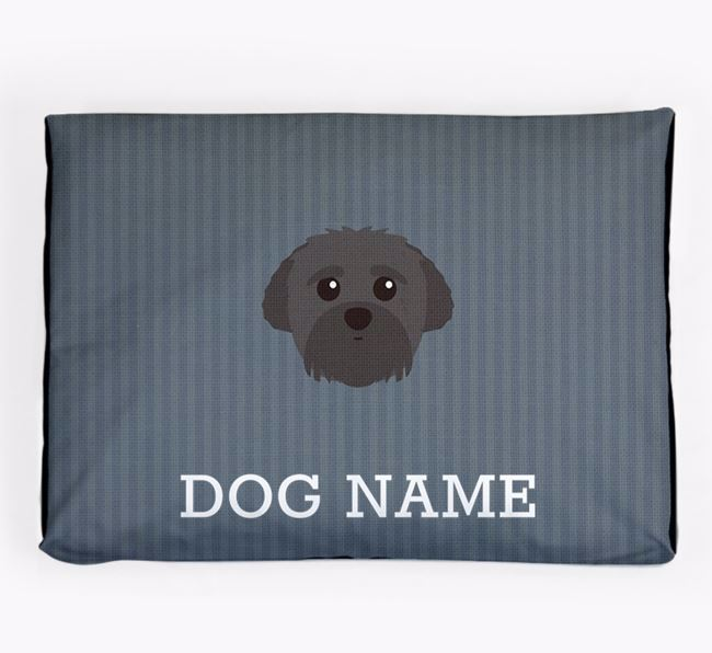 Personalised Dog Bed for your Peek-a-poo