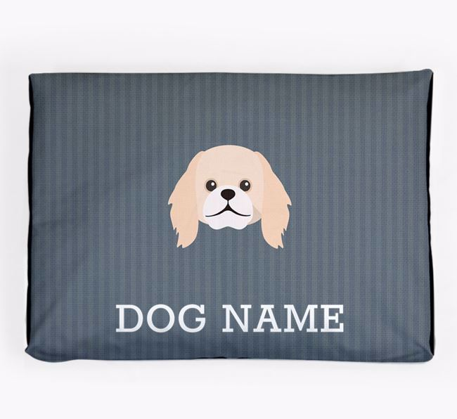 Personalised Dog Bed for your Pekingese