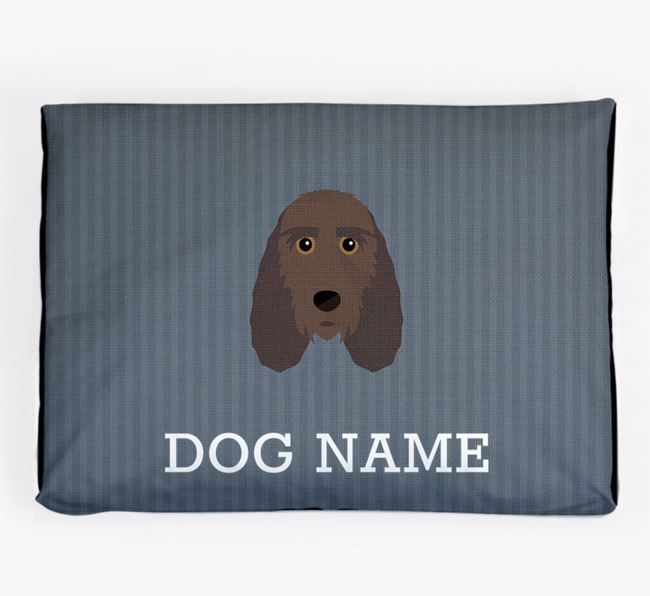 Personalised Dog Bed for your Petit Basset Griffon Vendeen