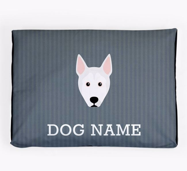 Personalised Dog Bed for your Pitsky