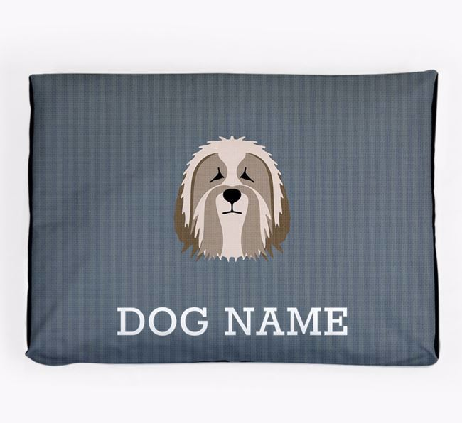 Personalised Dog Bed for your Polish Lowland Sheepdog