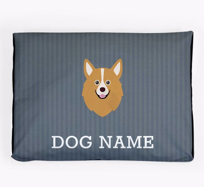 Personalised Dog Bed for your Pomchi