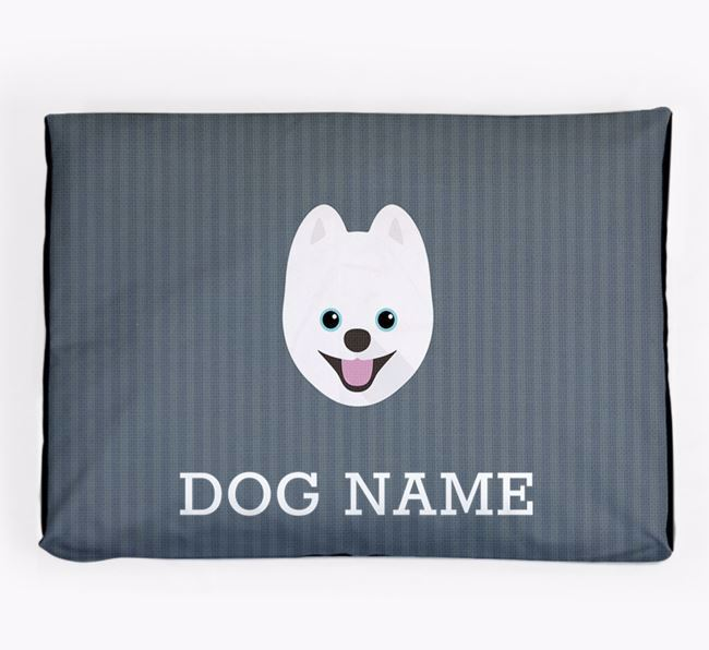 Personalised Dog Bed for your Pomsky