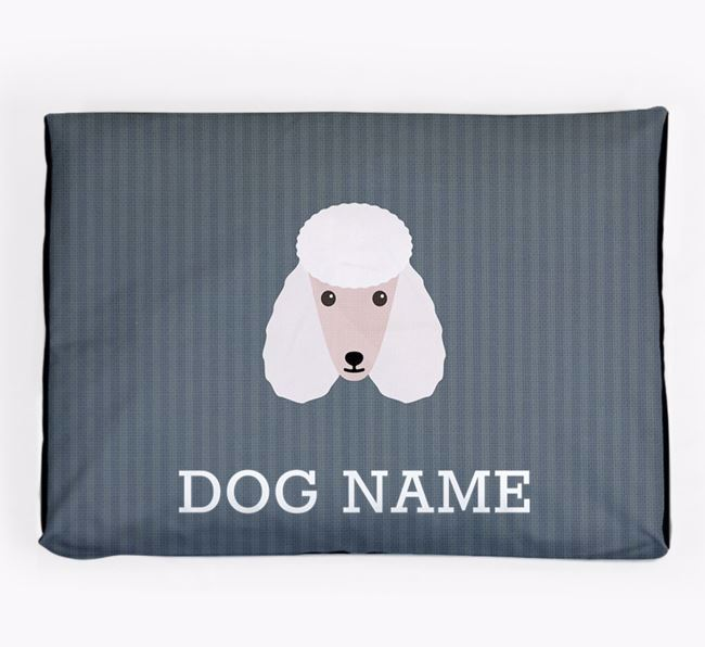 Personalised Dog Bed for your Poodle
