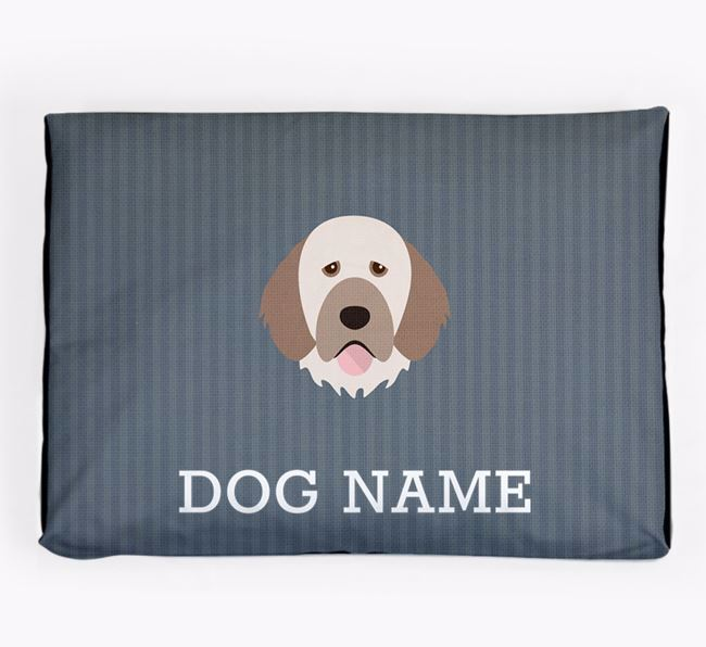 Personalised Dog Bed for your Portuguese Water Dog