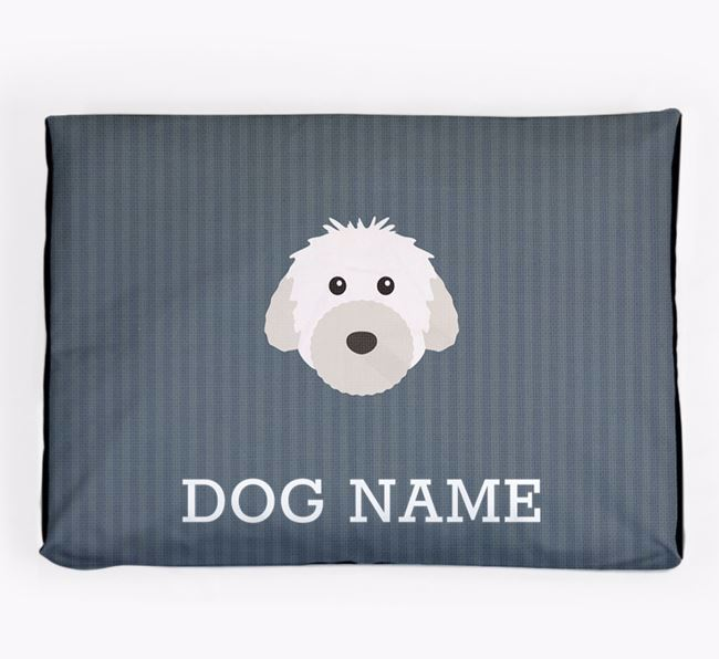 Personalised Dog Bed for your Powderpuff Chinese Crested