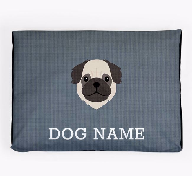 Personalised Dog Bed for your Pug