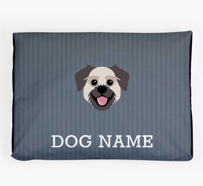 Personalised Dog Bed for your Pugzu
