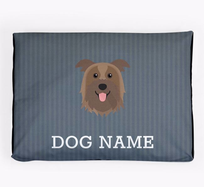 Personalised Dog Bed for your Pyrenean Shepherd