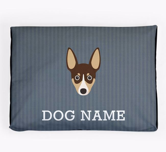 Personalised Dog Bed for your Rat Terrier