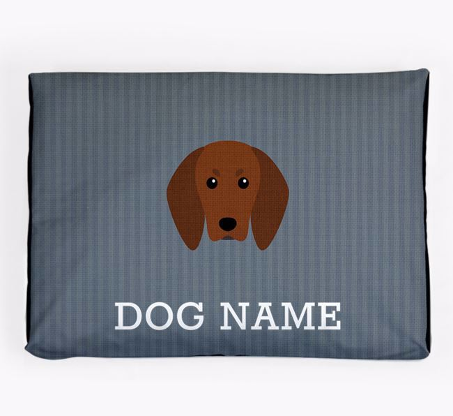 Personalised Dog Bed for your Redbone Coonhound
