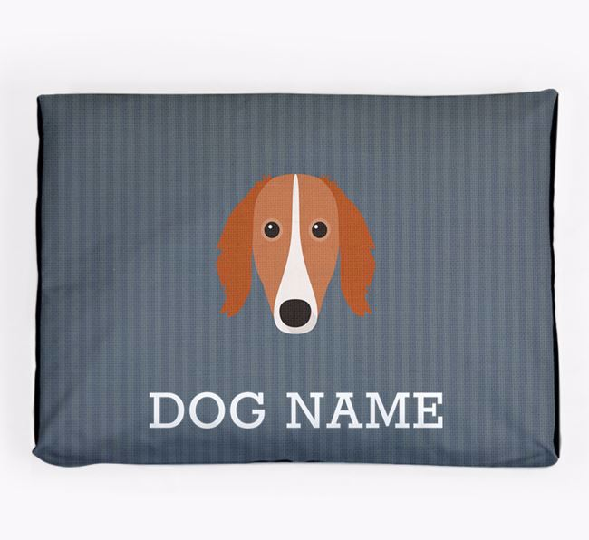 Personalised Dog Bed for your Saluki