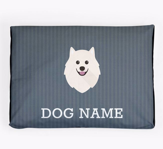 Personalised Dog Bed for your Samoyed