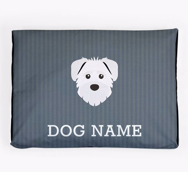 Personalised Dog Bed for your Schnoodle