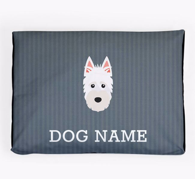 Personalised Dog Bed for your Scottish Terrier