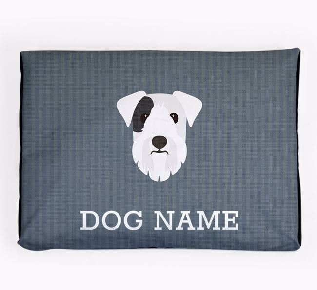 Personalised Dog Bed for your Sealyham Terrier