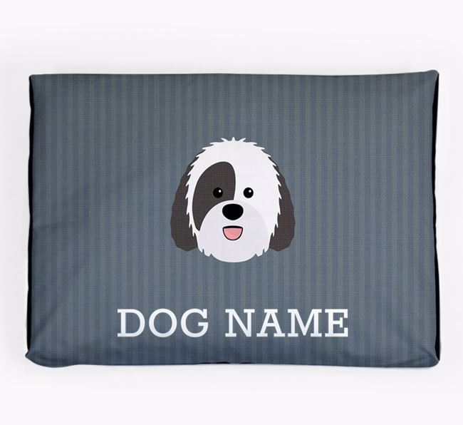 Personalised Dog Bed for your Sheepadoodle