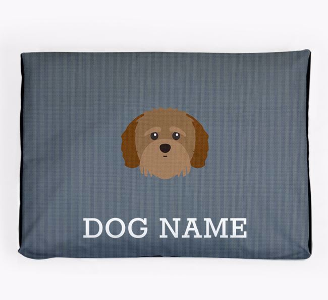 Personalised Dog Bed for your Shih-poo