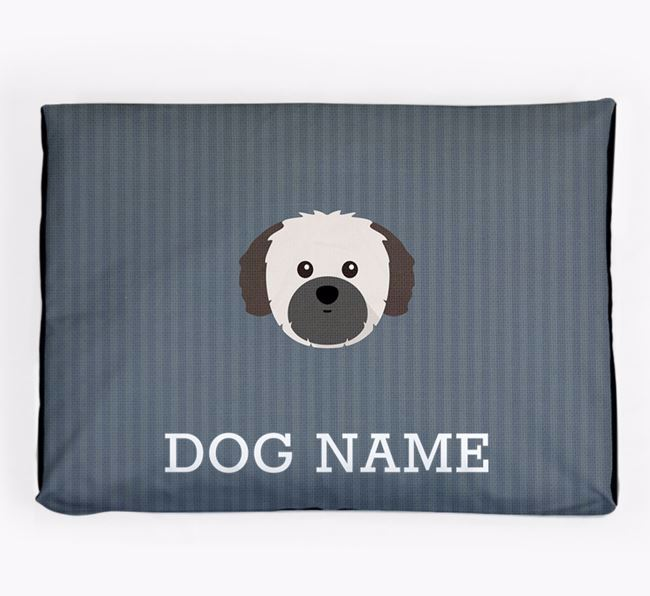 Personalised Dog Bed for your Shih Tzu