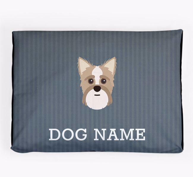 Personalised Dog Bed for your Shorkie