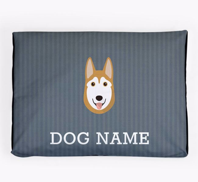 Personalised Dog Bed for your Siberian Husky