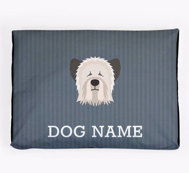 Personalised Dog Bed for your Skye Terrier