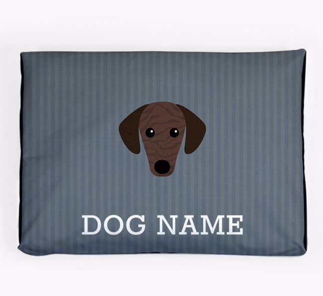Personalised Dog Bed for your Sloughi