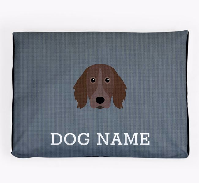 Personalised Dog Bed for your Small Munsterlander