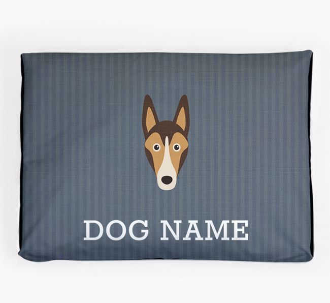 Personalised Dog Bed for your Smooth Collie