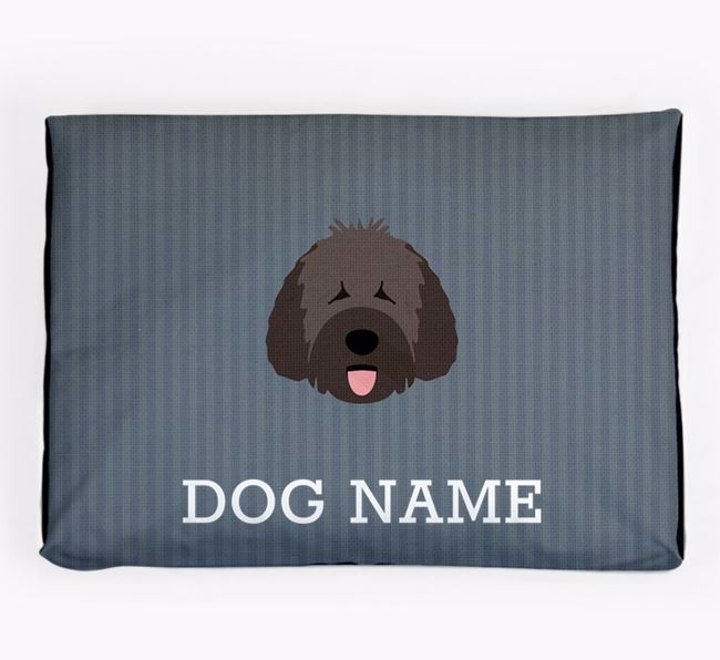 Personalised Dog Bed for your Spanish Water Dog