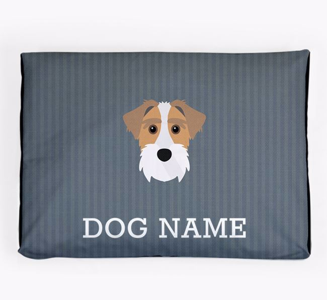 Personalised Dog Bed for your Sporting Lucas Terrier