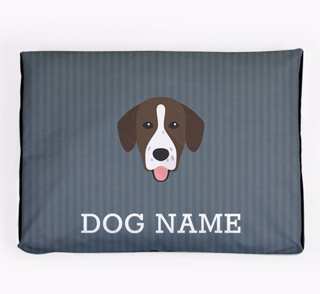 Personalised Dog Bed for your Springador